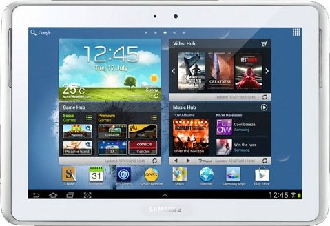 Samsung N8000 Galaxy Note 10.1 Wi-Fi/3G 16GB  White  383.00