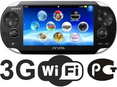 Sony PlayStation PSP Vita PCH-1104 3G/WiFi  230.51